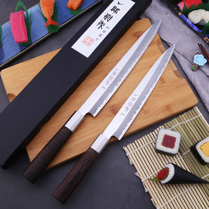 Yilangbiezuo New style sashimi knife restaurant special sashimi knife willow blade knife salmon knife Japanese sushi knife